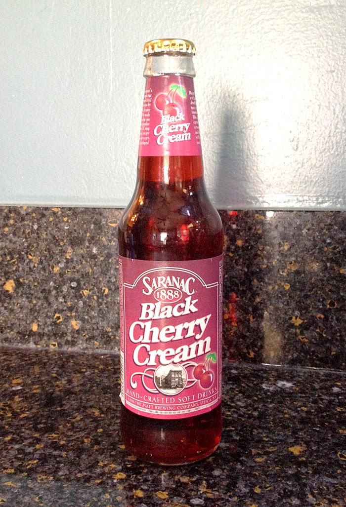 Saranac Black Cherry Creme