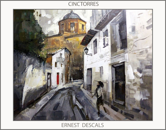 CINCTORRES-PINTURA-PAISATGES-MAESTRAT-PINTURES-MAESTRAZGO-CASTELLO-ELS PORTS-ARTISTA-PINTOR-ERNEST DESCALS-