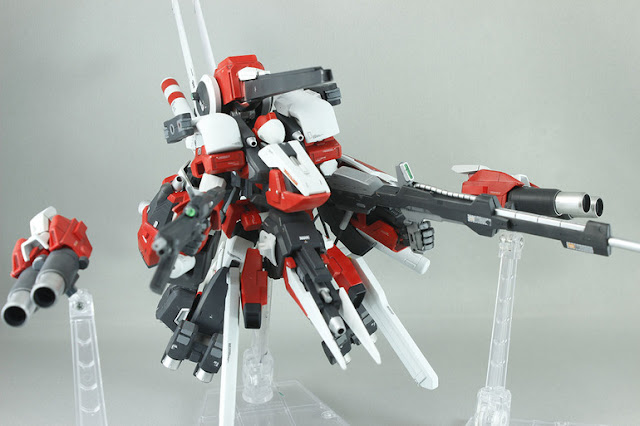 Genoace Full Custom model kit modification