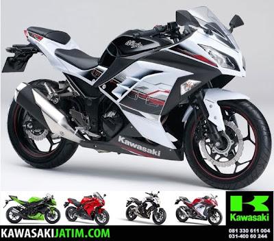 ninja 250SE ABS white