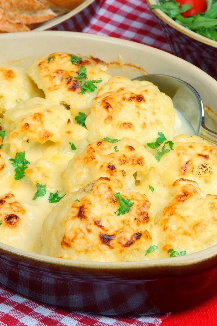 Oven-Roasted Cauliflower Recipe