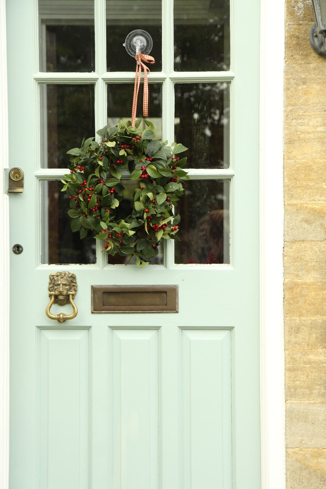Modern country style case study farrow and ball powder blue for Country style doors