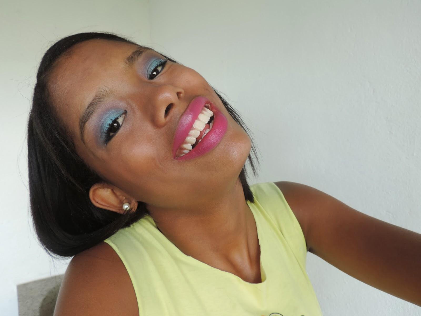 Maquiagem para o Carnaval!!!
