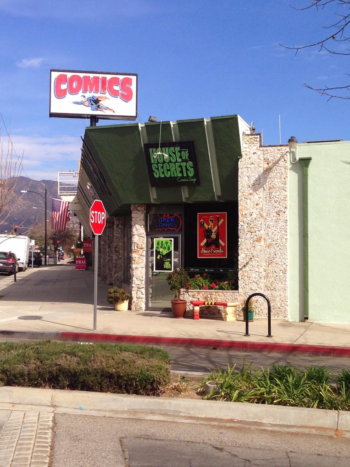house of secrets comic books