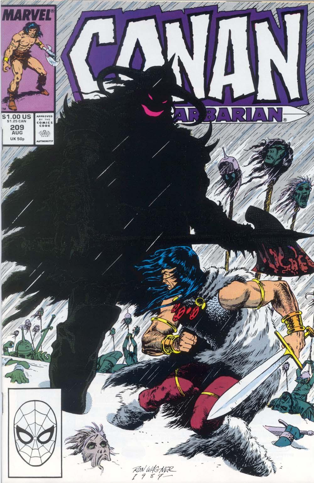 Conan the Barbarian (1970) Issue #209 #221 - English 1