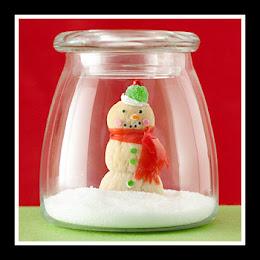 Craft Ideas Doilies on Blog Cute Christmas Crafts Snow Globe 1 Jpg