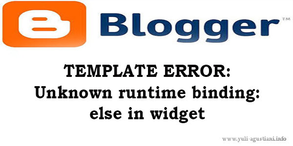 TEMPLATE ERROR: Unknown runtime binding: else in widget