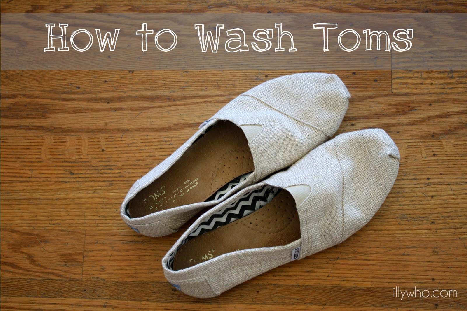 how to wash or clean toms