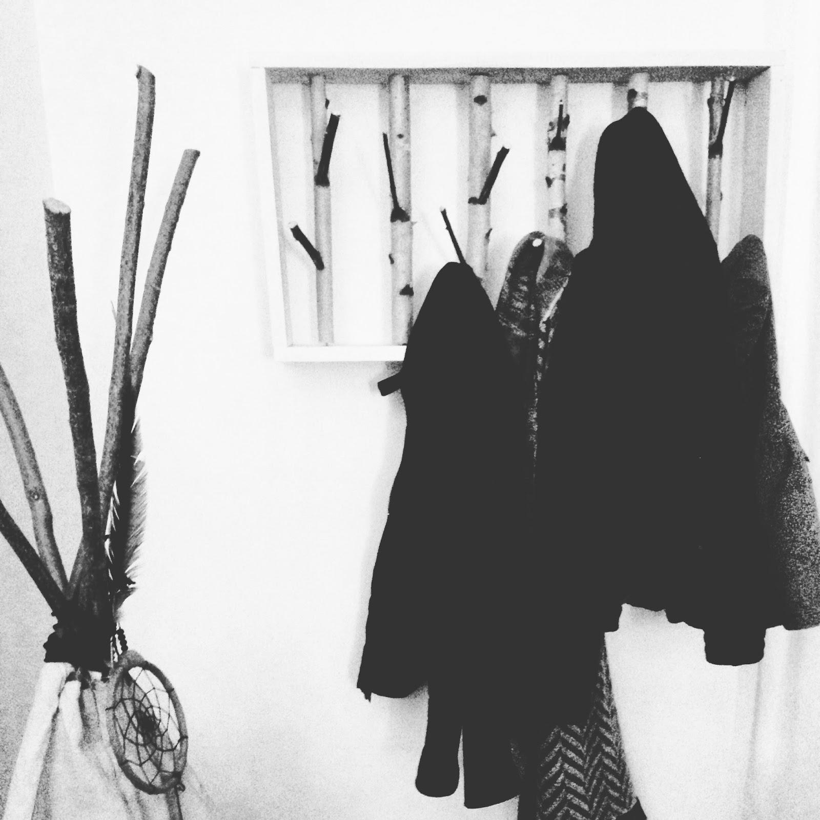 diy porte manteau. Black Bedroom Furniture Sets. Home Design Ideas