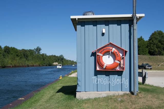 USCG United States U.S. Coast Guard Sturgeon Bay Door County Wisconsin canal