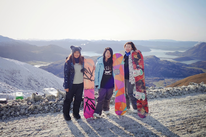 Treble Cone New Zealand Snowboarding