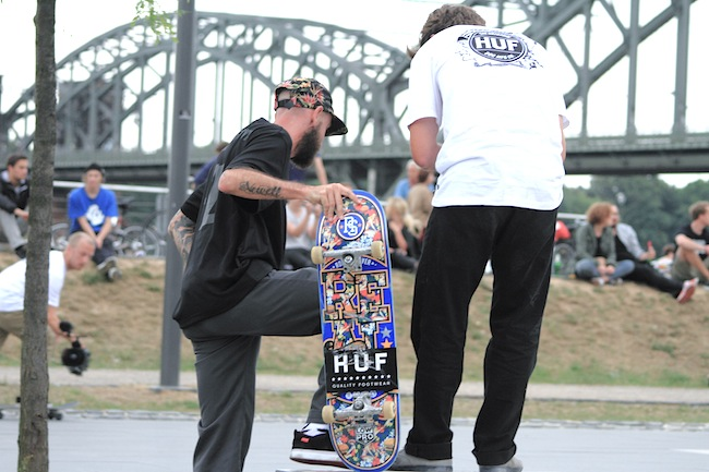 HUF STOOPSEUROTOUR COLOGNE GERMANY, PHOTOS SACHA PUETZ 2013