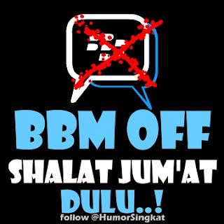 UPDATE DP BBM Shalat Jumat Status