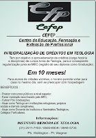 CURSO BACHAREL EM TEOLOGIA