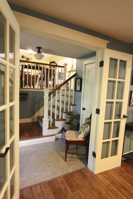 french doors off foyer via www.goldenboysandme.com