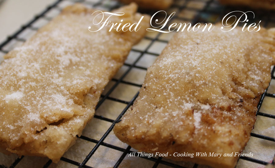 Saw This Recipe The Other Day Over On Joan S Chocolate Chocolate And More Chocolate S Page And Just Had To Try It Out I Love Fried Pies And The Lemon