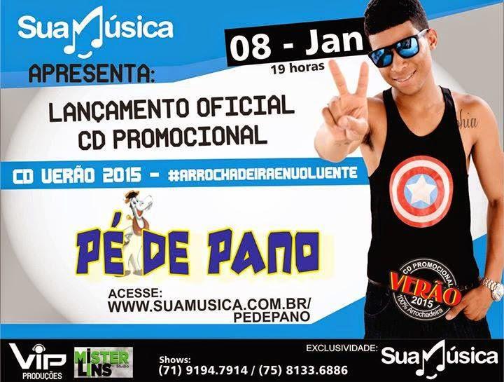 PÉ DE PANO CD PROMOCIONAL VERÃO 2015