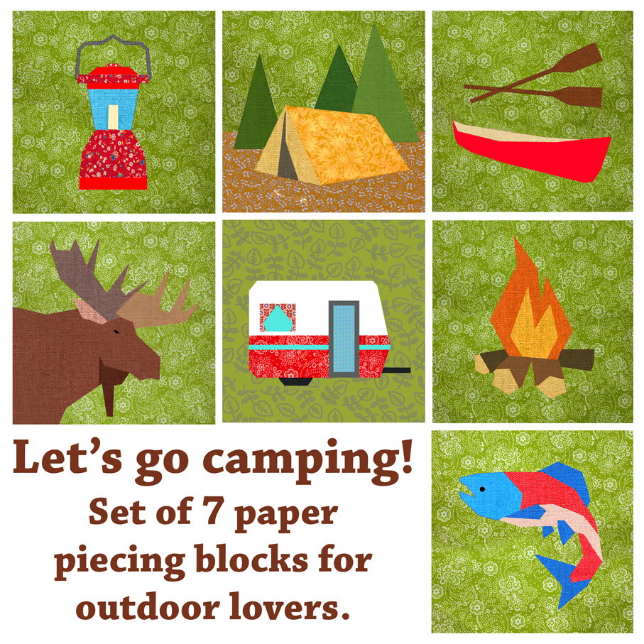 Bubblestitch Quilts: Let' go camping! : camping quilt - Adamdwight.com