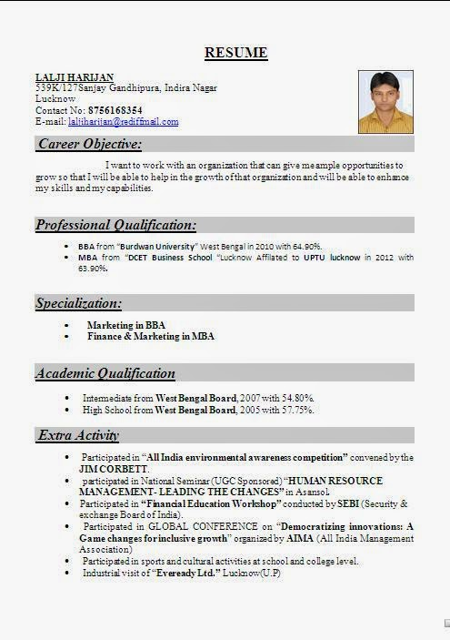 you may download all these cv formats from the link at the end of this