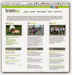 www.train-aid.co.uk Delivers Educational First Aid at Work Resources