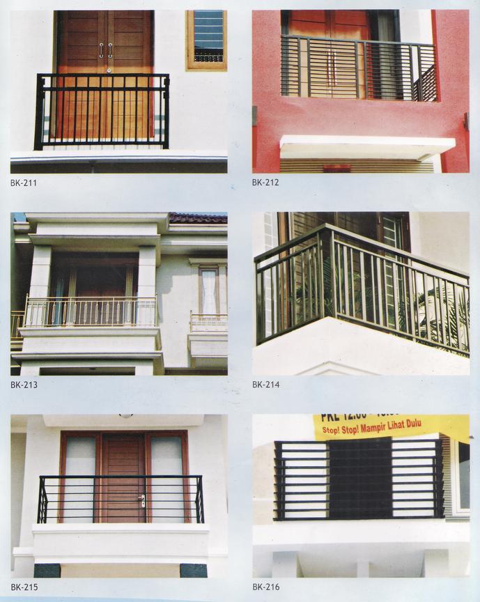 folding gate sumber makmur desain model balkon 4. Black Bedroom Furniture Sets. Home Design Ideas