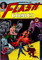 Flash Comics #63 comic book cover