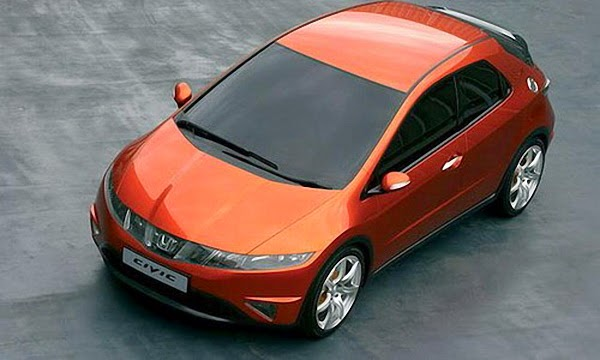 Noul Civic 5D de la Honda