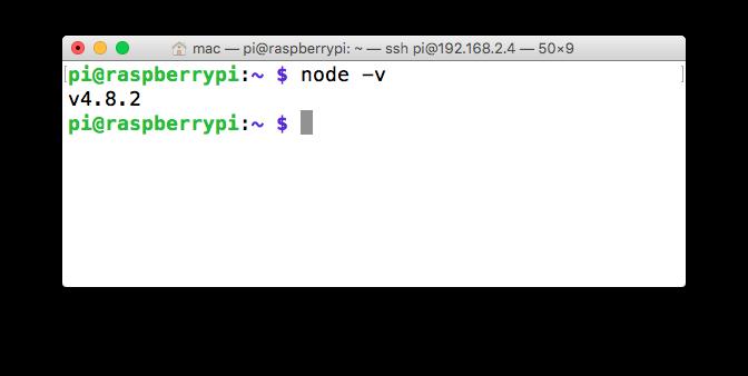 Raspberry Pi Projects  Raspberry Pi Node Js Webserver