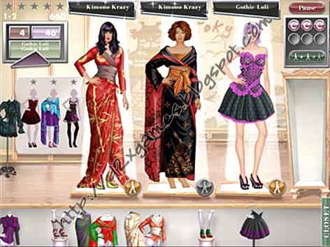 Free Download Games - Jojo Fashion Show World Tour
