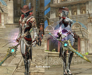 R99 bloody robe dark elf lineage2