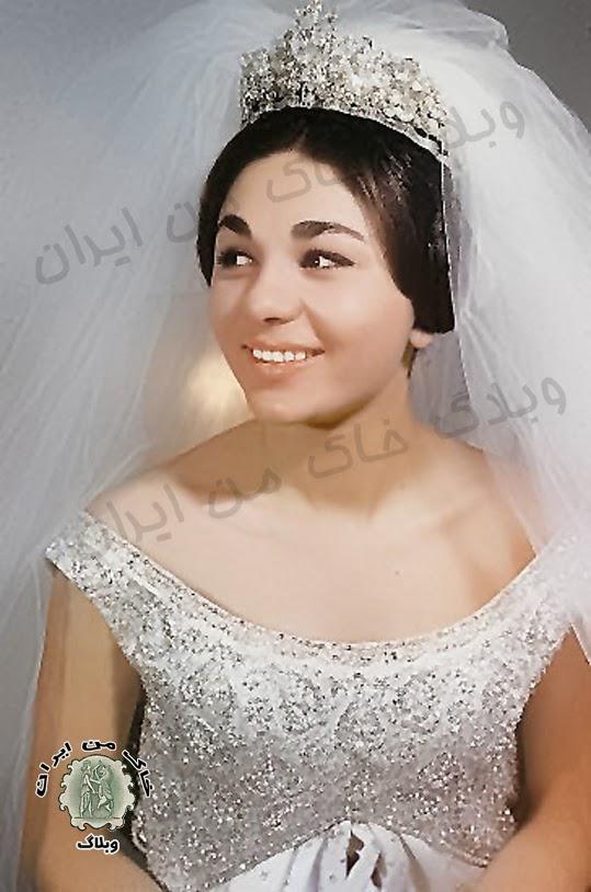عکس ثریا زن شاه ایران