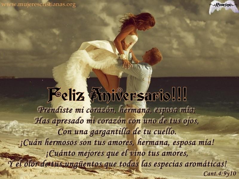 felicitaciones para un aniversario: