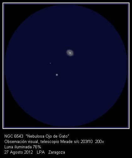 NGC6543   neb Ojo de Gato NGC6543