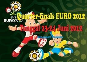 Jadwal-Quarter-finals-EURO 2012