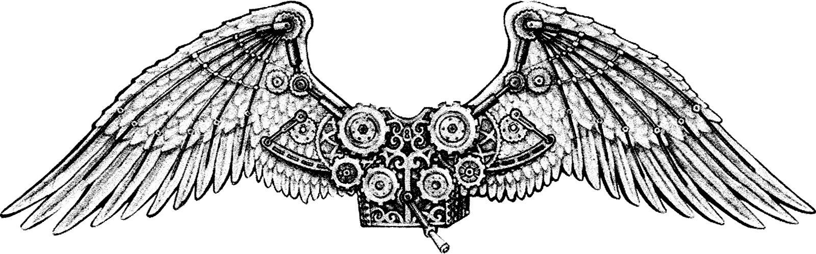 how to make mechanical wings