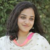 Nitya meenon Latest Photo Gallery in Salwar Kameez at New Movie Opening 6