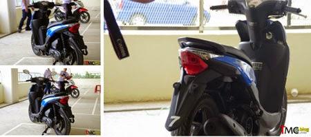 gambar lampu belakang Honda BeAT eSP