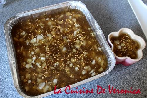 La Cuisine De Veronica 晶瑩桂花馬蹄糕 賀年糕點