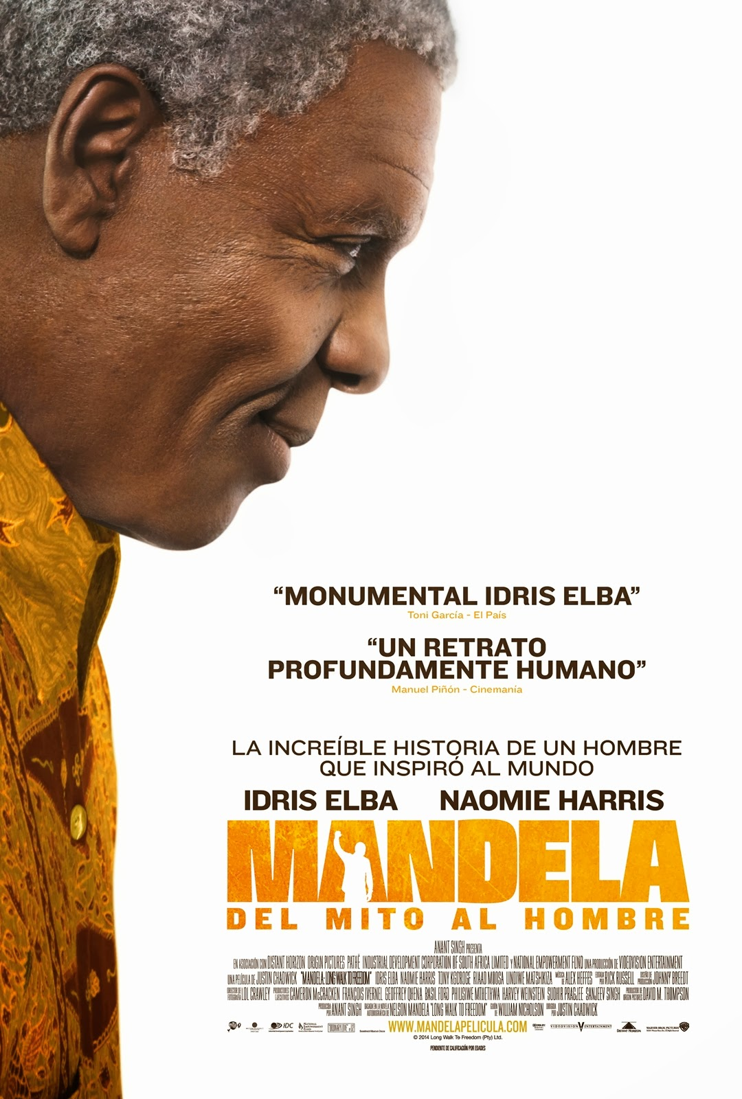 Mandela: El largo camino hacia la libertad