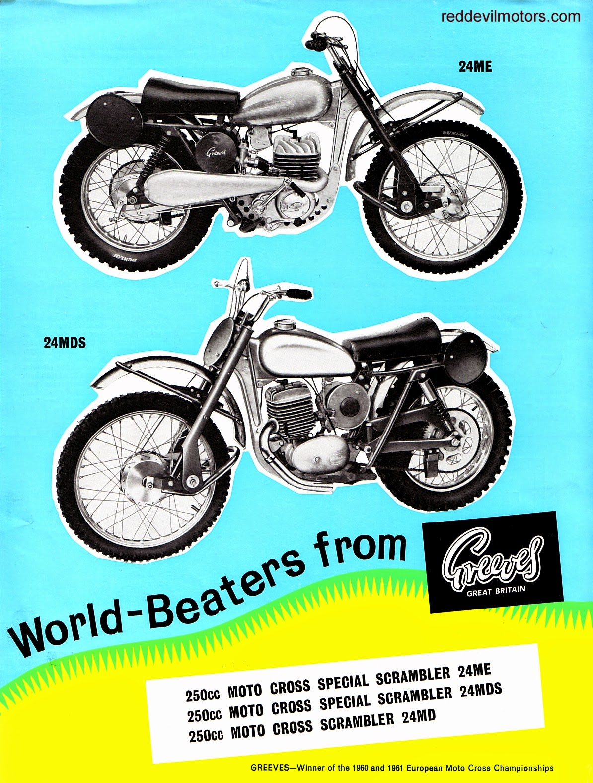 greeves scrambler me md mds 1963