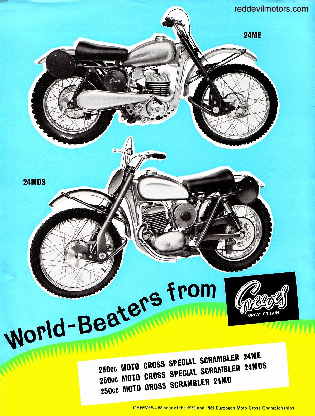 greeves scrambler me md mds 1963