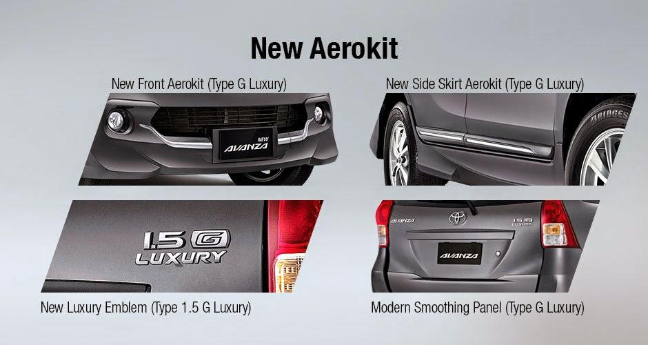 Spesifikasi Avanza Luxury