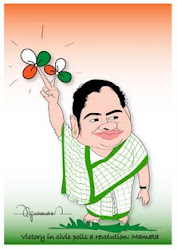 Victory of Mamata didi in cartoon..