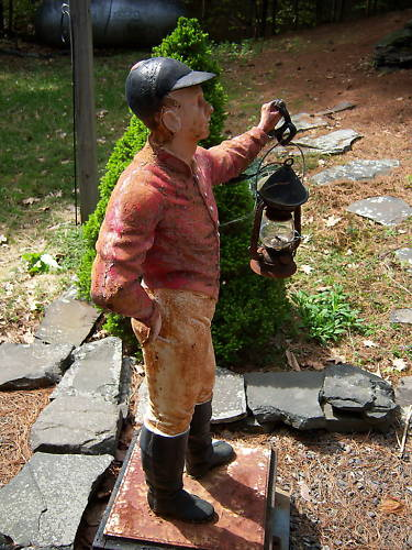 Horse Country Chic The Lawn Jockey