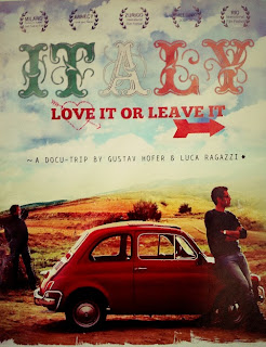 Italy: Love it or leave it poster