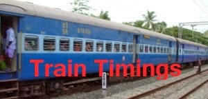 Find Train Timing online