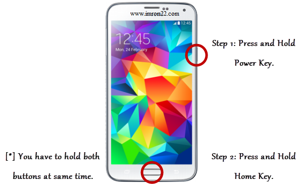 Tips Cara mudah screenshot di handphone Samsung Galaxy www.imron22.com