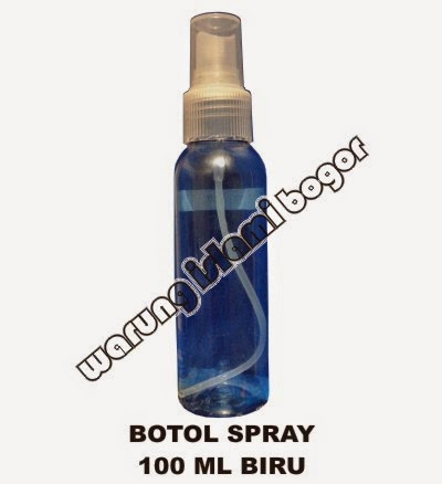 Jual Botol Spray 100ml Warna Biru