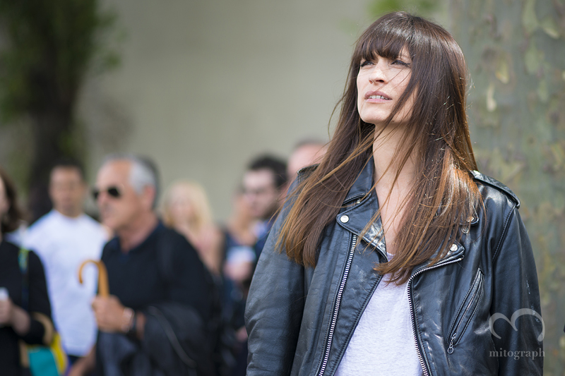 mitograph Caroline de Maigret After Dior Homme Paris Mens Fashion Week 2014 Spring Summer PFW Street Style Shimpei Mito