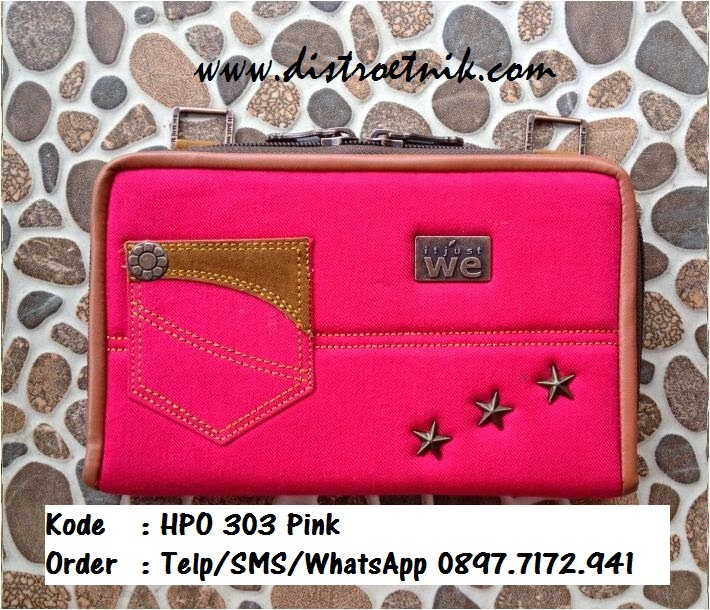 dompet jeans it jus we hpo 303 series pink